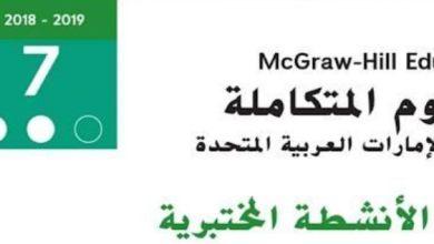 Photo of صف سابع فصل ثاني دليل محلول الأنشطة المختبريه علوم