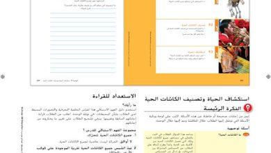 Photo of صف سادس فصل ثاني دليل علوم الوحدة السابعة