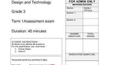 Photo of صف ثالث فصل أول امتحان تصميم وتكنولوجيا