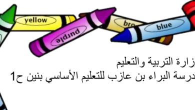 Photo of نماذج امتحان نهاية الفصل الثاني لغة عربية صف أول