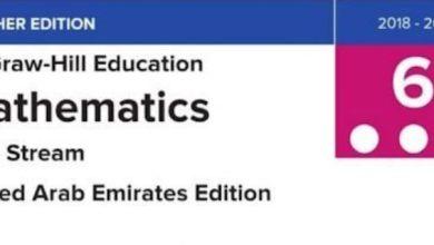 Photo of دليل الطالب التفاعلي رياضيات منهج إنجليزي صف سادس فصل ثالث