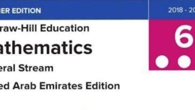 Photo of دليل الطالب التفاعلي رياضيات صف سادس نخبة فصل ثالث