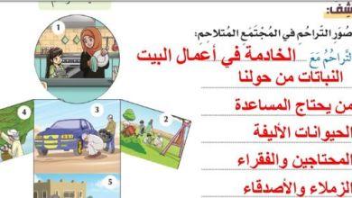 Photo of درس التراحم مع الاجابات تربية اسلامية الصف الثالث الفصل الثالث