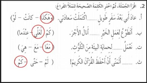 حل درس رحلة بيبو لغة عربية صف ثالث فصل ثالث