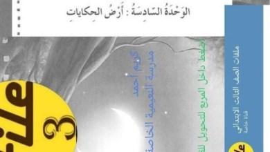 Photo of حل الوحدة الثامنة أرض الحكايات كتاب النشاط لغة عربية صف ثالث فصل ثالث