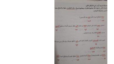 Photo of حل علامات إعراب الاسم الأصلية والفرعية لغة عربية صف سابع فصل ثالث