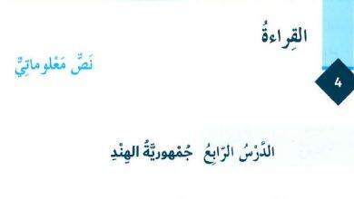 Photo of حل درس جمهورية الهند لغة عربية صف ثامن فصل ثالث
