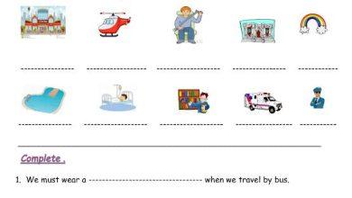 Photo of أوراق عمل لغة إنجليزية الوحدة التاسعة صف ثالث فصل ثالث