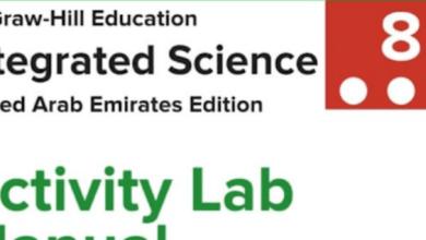 Photo of دليل الأنشطة المختبرية نسخة المعلم علوم منهج إنجليزي صف ثامن فصل ثالث