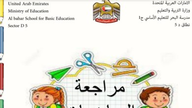 Photo of أوراق عمل محلولة رياضيات صف أول فصل ثالث