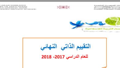 Photo of أوراق عمل تقييم تربية إسلامية صف ثالث فصل ثالث