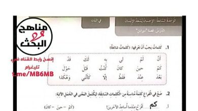 Photo of حل الوحدة السابعة الإحسان يسعد الإنسان لغة عربية صف رابع فصل ثالث
