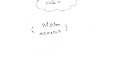 Photo of حل بعض مسائل التكامل رياضيات صف ثاني عشر نخبة فصل ثالث