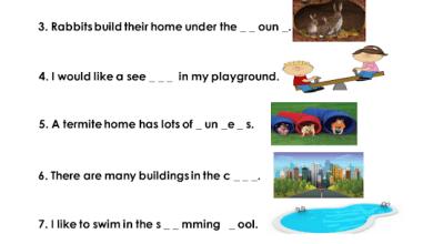 Photo of تدريبات مراجعة لامتحان الكتابة لغة إنجليزية صف ثالث فصل ثالث