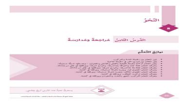 Photo of حل درس مراجعة ومدارسه لغة عربية صف سادس فصل ثالث