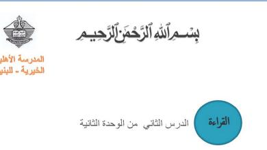 Photo of صف تاسع فصل ثاني لغة عربية الناس والزمان