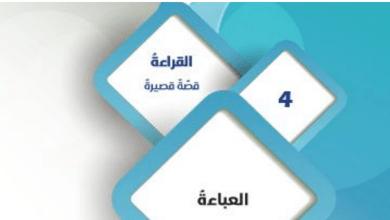 Photo of صف تاسع فصل ثاني  لغة عربية العباءة