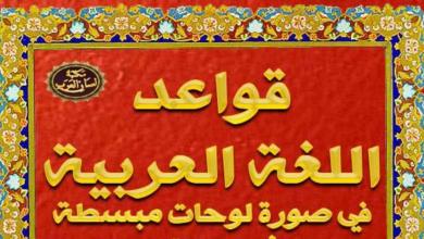 Photo of كتاب شامل في قواعد اللغة العربية