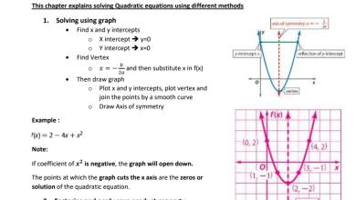 Photo of صف تاسع فصل أول مراجعة الوحدة الرابعة رياضيات منهج إنجليزي