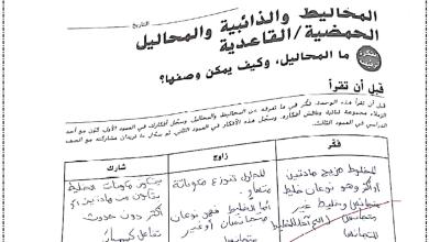 Photo of حل كتاب النشاط علوم صف سادس فصل أول