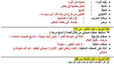 Photo of حل درس أنسج مربعا لغة عربية للصف الرابع فصل أول