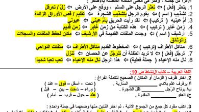 Photo of حل درس سقف الأحلام كتاب الطالب لغة عربية صف رابع فصل أول