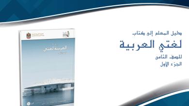 Photo of دليل المعلم لغة عربية الفصل الأول الصف الثامن 2017