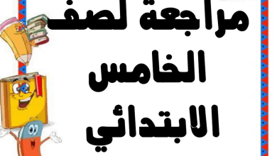 Photo of مراجعة شاملة وحدات الكتاب لغة انجليزية صف خامس