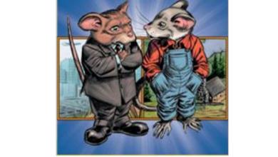 Photo of درس فأر القرية وفأر المدينة مع الإجابات اللغة العربية لغير الناطقين بها للصف الثالث