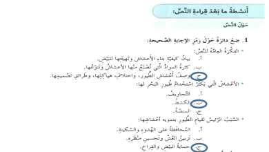 Photo of حل درس حكايات الاعشاش لغة عربية الصف السابع الفصل الثالث