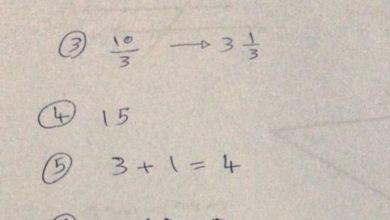 Photo of حل امتحان رياضيات 2019 الصف الرابع الفصل الثالث