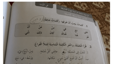 Photo of حل الوحدة الثالثة من كتاب النشاط لغة عربية صف ثاني فصل أول