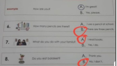 Photo of حل امتحان وزاري لغة إنجليزية 2019 – 2020 صف ثاني فصل أول
