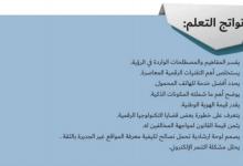Photo of حل الرؤية الثانية محو الأمية الإلكترونية من كتاب كتاب المواطنة الرقمية دراسات اجتماعية صف ثاني عشر فصل ثاني