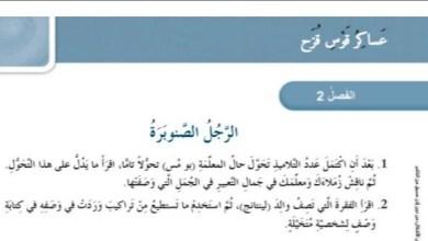 Photo of حل درس الرجل الصنوبرة رواية عساكر قوس قزح
