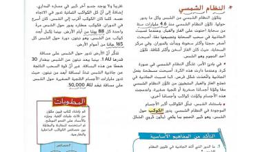 Photo of حل درس النظام الشمسي علوم صف سادس فصل ثالث