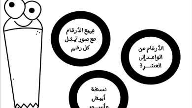 Photo of أوراق عمل تدريبية لكتابة الأرقام للصفوف الأولى