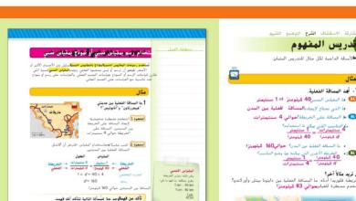 Photo of حل درس رسومات المقاييس النسبية رياضيات صف سابع فصل ثاني