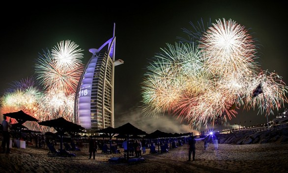 Dubai National Day Fireworks