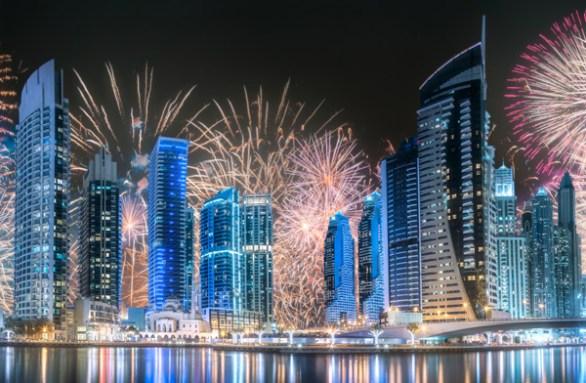 firework show in dubai