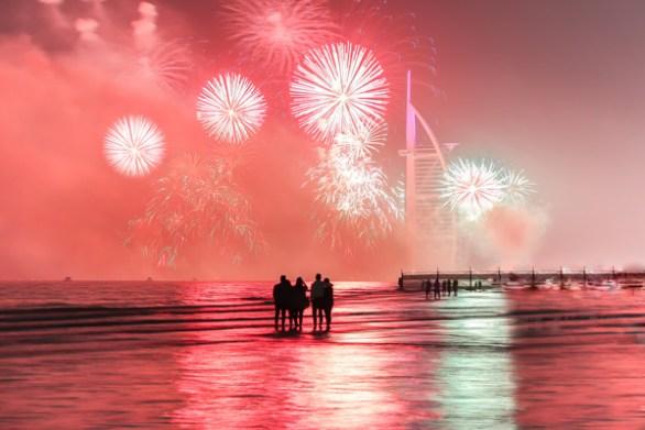 uae fireworks 2018