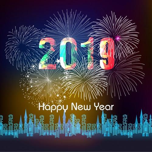 UAE 2019 NYE images