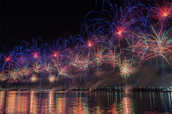 UAE National Day Fireworks Timings