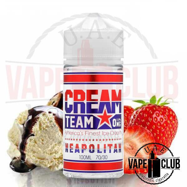 Cream Team Buy Neapolitan 100ml We have more Products for Vape IQOS Device, Heets, Myle kits & Pods, Juul kits & Pod, all Disposables vape Mods Buy Uaevapeclub.com