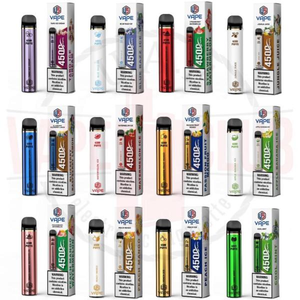 disposable Vape flavors Authentic Buy Now 4500 Puffs In Dubai 5% Nicotine Salt, Liquid Volume: 16-ml E-Liquid, Battery: 2200 mAh, Puff: 4500, Biggest Smoke and Best model in the market