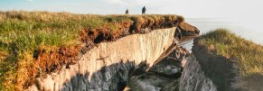 Coastal erosion and permafrost melting are big concerns for Northern residents.