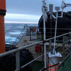 This is what the Polar Area Weather Station looks like before it goes into the ice.