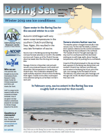 Bering Sea Ice for 2019