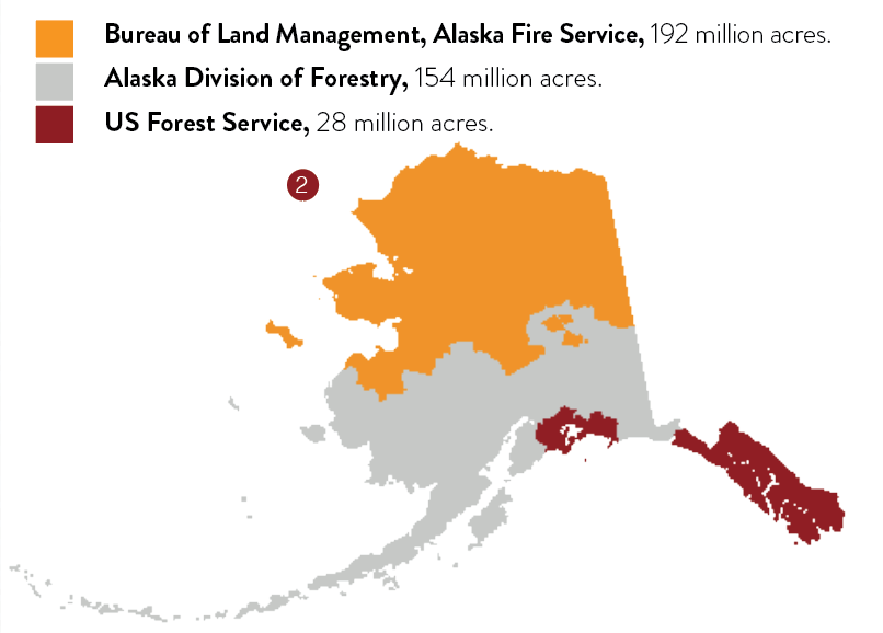agency boundaries for fire management