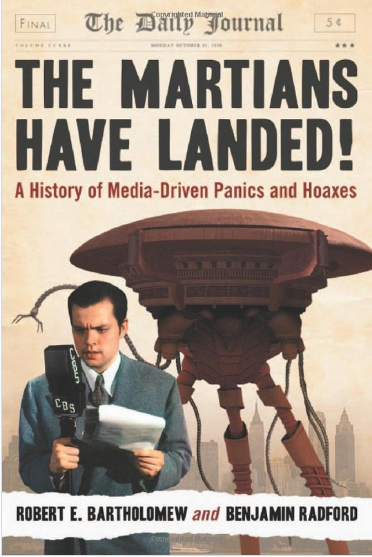 Book Review: The Martians Have Landed!